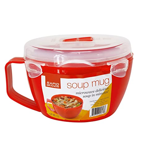 Amazon.com: Taza de sopa rápida | Sopa de microondas y ...
