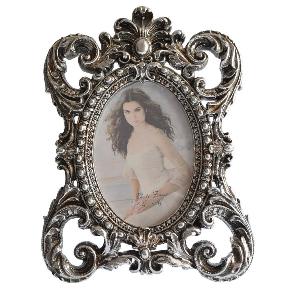 Giftgarden 6x4 Silver Photo Frames Shabby Chic Frame Friends Gifts ...