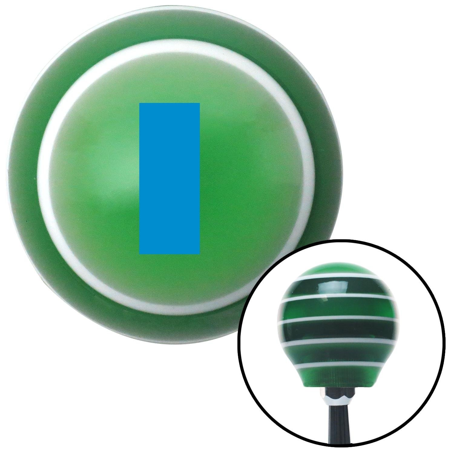 American Shifter 124706 Green Stripe Shift Knob with M16 x 1.5 Insert Blue First Lieutenant /& Second Lieutenant