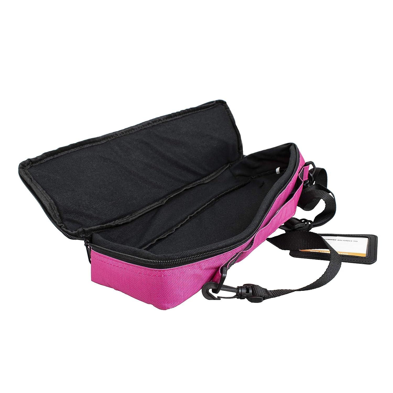 color rosa Funda para flauta travesera Tomandwill 33FCC-630