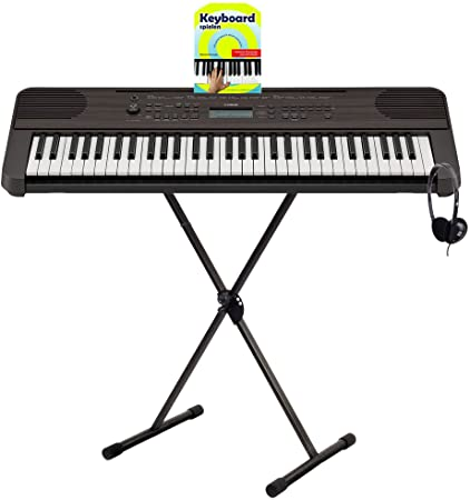 Yamaha PSR-E360 DW - Set de iniciación del teclado (61 teclas ...