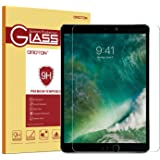 iPad Pro 10.5 Screen Protector, OMOTON Tempered-Glass Screen Protector with [9H Hardness] [Premium Crystal Clear] [Scratch-Resistant] [Bubble-Free Installation] for iPad Pro 10.5 inch (2017 Release)