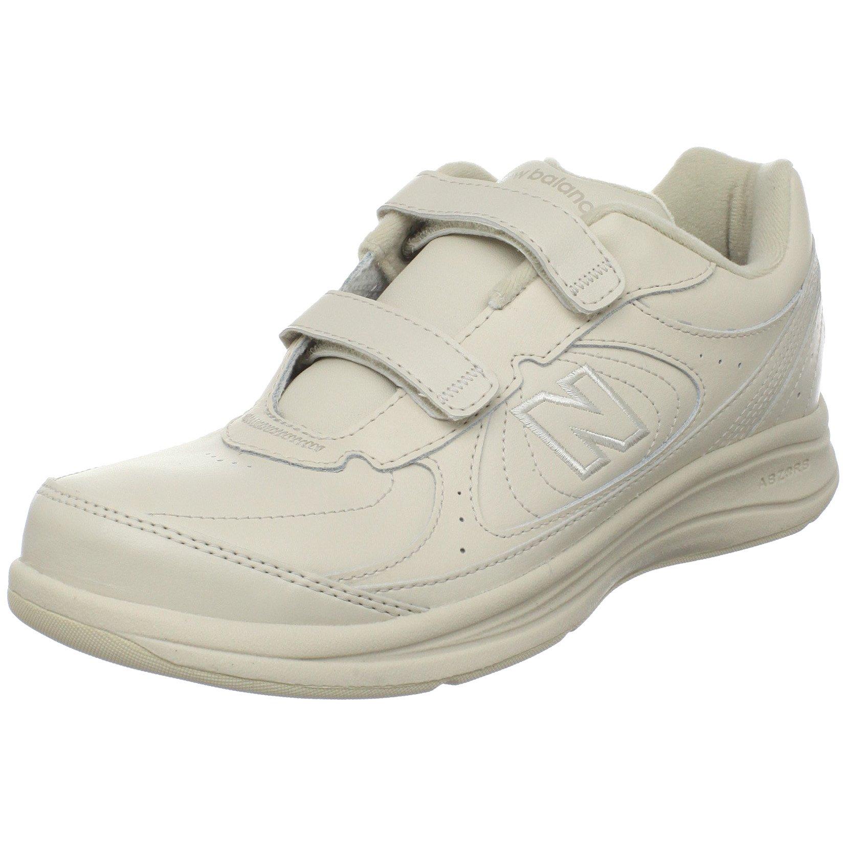 ''New Balance Women's WW577 Walking Velcro Shoe,Bone,7 D US''