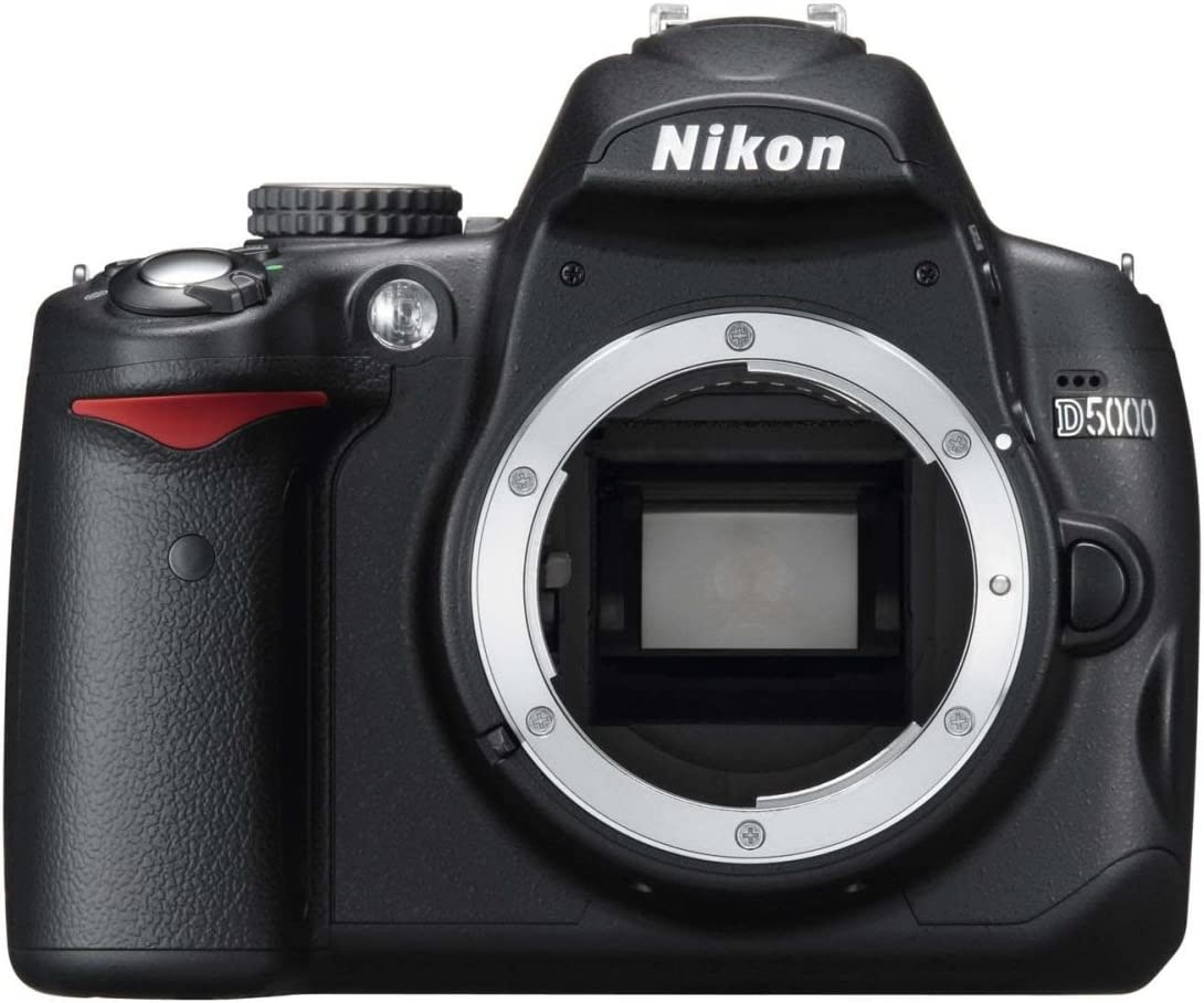 Nikon D5000 - Cámara Réflex Digital 12.3 MP (Cuerpo): Amazon.es ...
