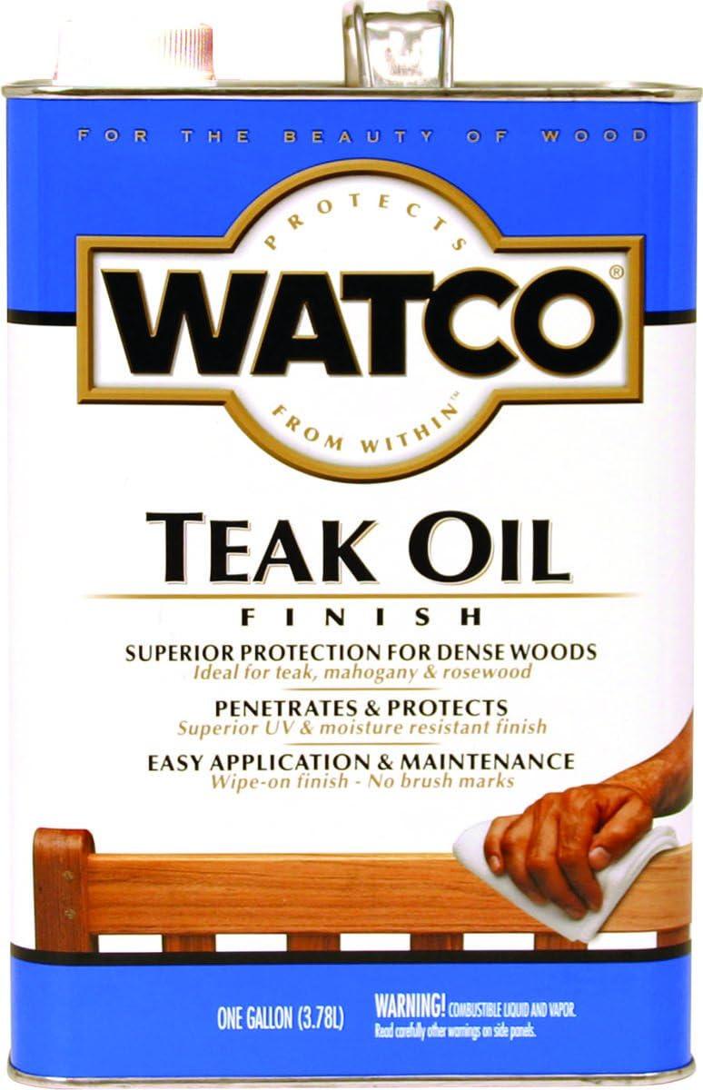 RUST-OLEUM242225 Watco Teak Oil VOC Gallon