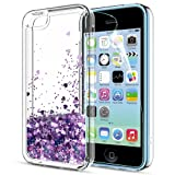 iPhone 5C Case,iPhone 5C Liquid Case with HD Screen