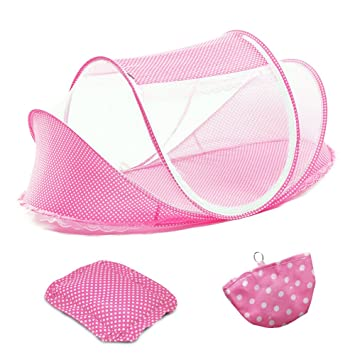 ColorBird Portable Infant Toddler Baby Travel Bed Tent u2013 Foldable Mosquito Net Canopy Crib with Music  sc 1 st  Amazon.com & Amazon.com : ColorBird Portable Infant Toddler Baby Travel Bed ...