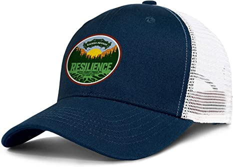 Mens Women Sierra Nevada Brewing Company Beer Logo All Cotton Trucker Mesh Cap Adjustable Snapback Sun Hat