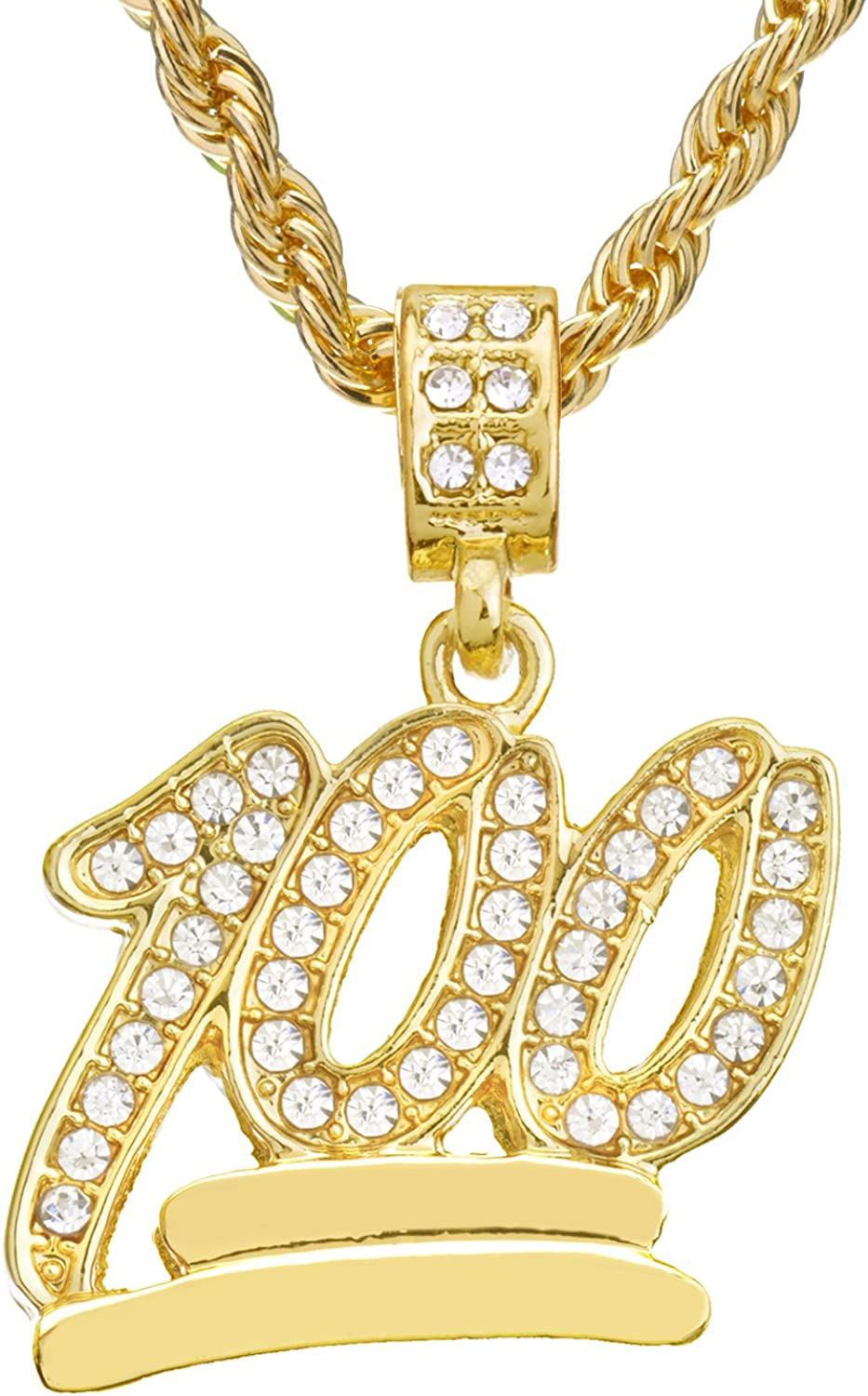 Emoji Shape Fully Iced Out with CZ Stone Pendent in 925 sterling silver
