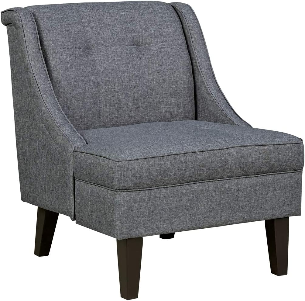 Signature Design by Ashley - Calion Contemporary Accent Chair, Dark Gray