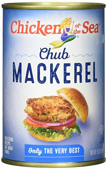 Chicken Of The Sea Jack Mackerel Sea Food 15 Ounce Cans Pack Of 12