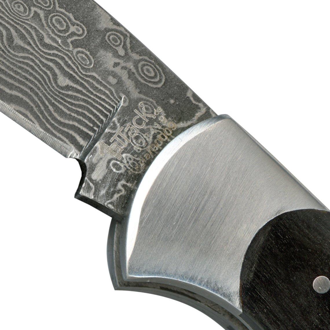 Cuchillo de caza en acero de damasco de la mejor calidad, de bolsillo, para actividades de exterior, para la cocina, regalo perfecto para ...