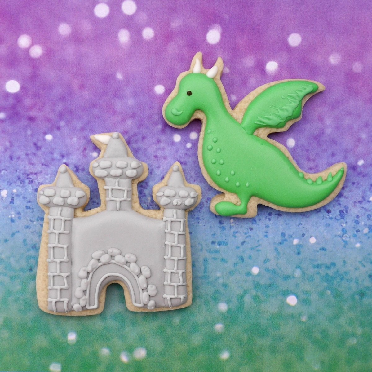 Princess Kingdom Cookie Cutter Set - 10 Piece Stainless Steel by Sweet Cookie Crumbs (Image #5)