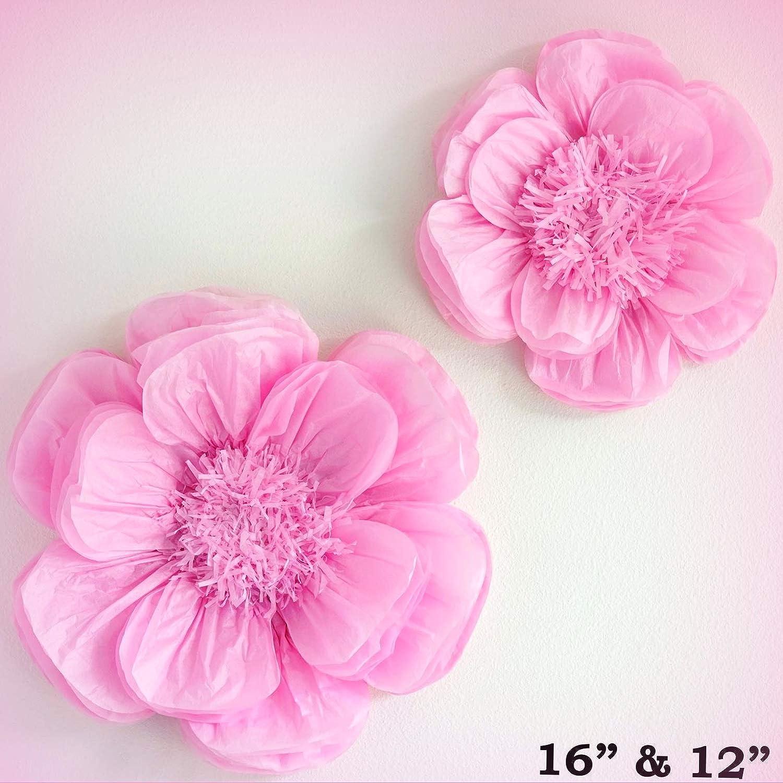 Amazon Inna Wholesale Art Crafts New 2 Pcs 12 And 16 Pink