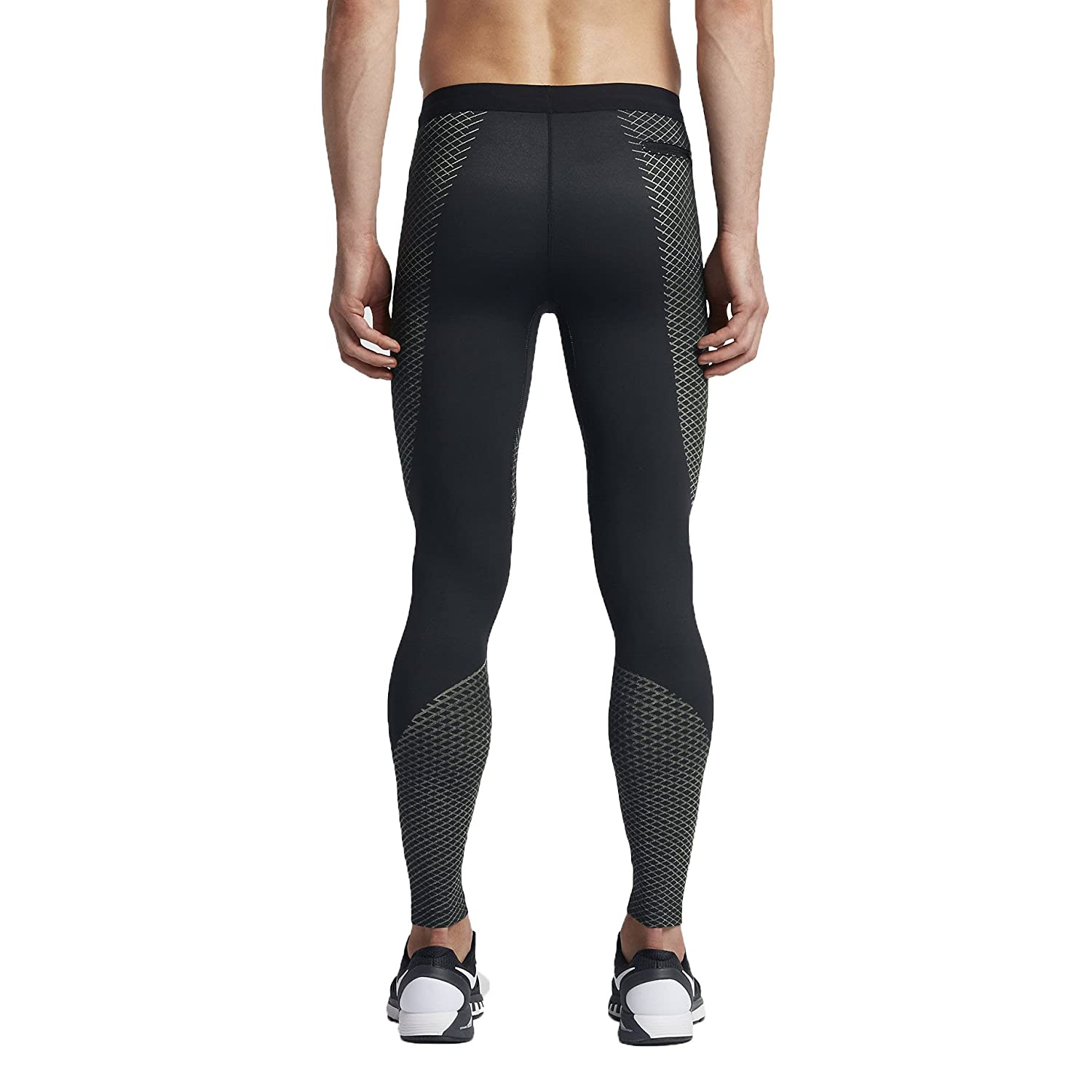 d797faae12 Amazon.com : Nike Zonal Strength Mens Running Tights (S, Black/Grey) :  Sports & Outdoors