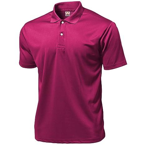 Wundou Hombres de Deporte Dry luz Polo-Shirts P335? XL? brightpink ...