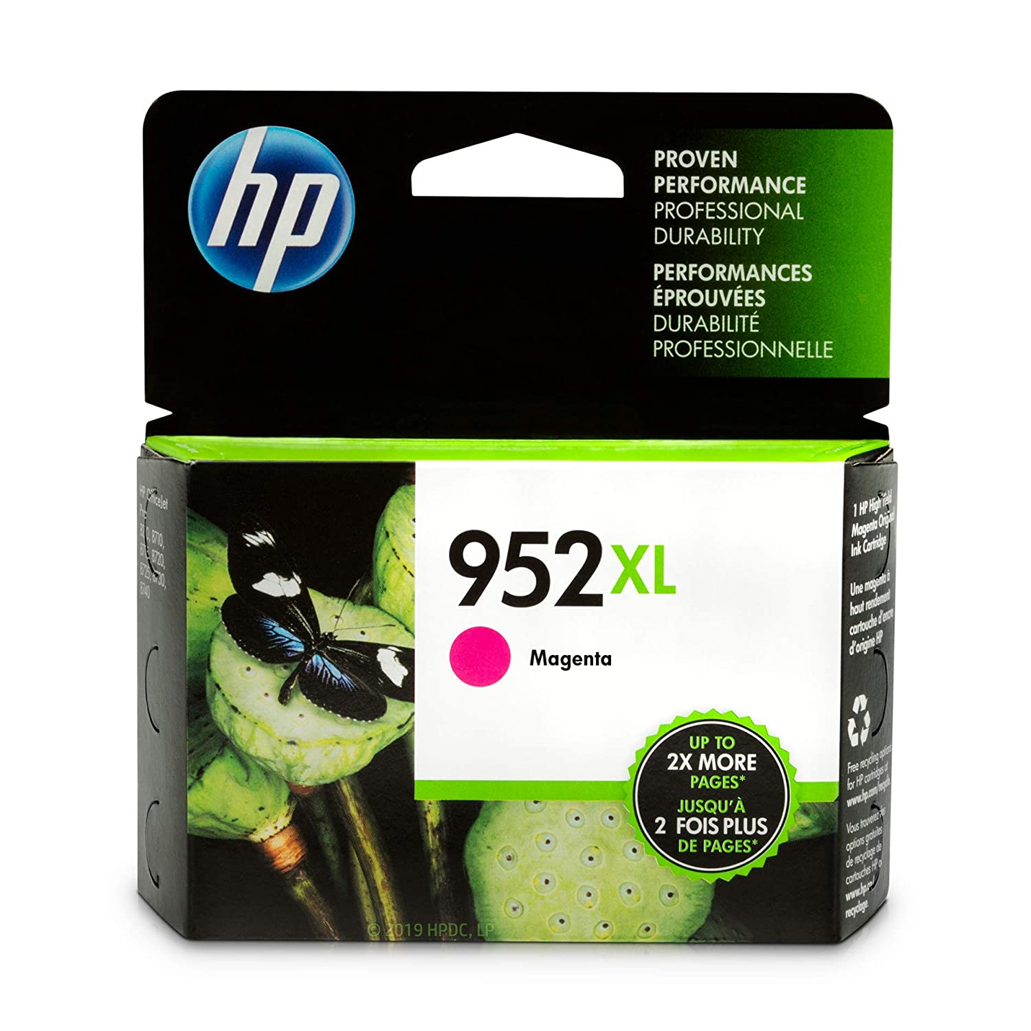HP 952XL Ink Cartridge Magenta (L0S64AN)