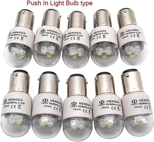 KUNPENG -BA15D Bombilla de luz LED 110V en forma de ajuste para ...