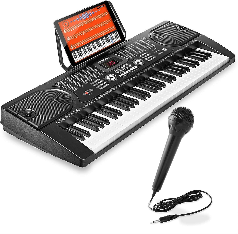 Portable Electronic Musical Inst... Hamzer 61-Key Digital Music Piano Keyboard