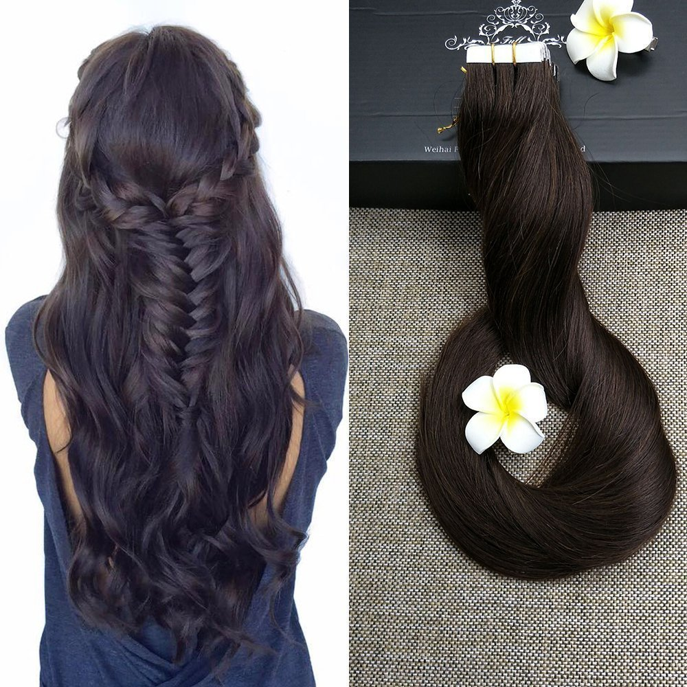 Best Hair Extensions Full Shine 14 20pcs 50gram Thick End Hair