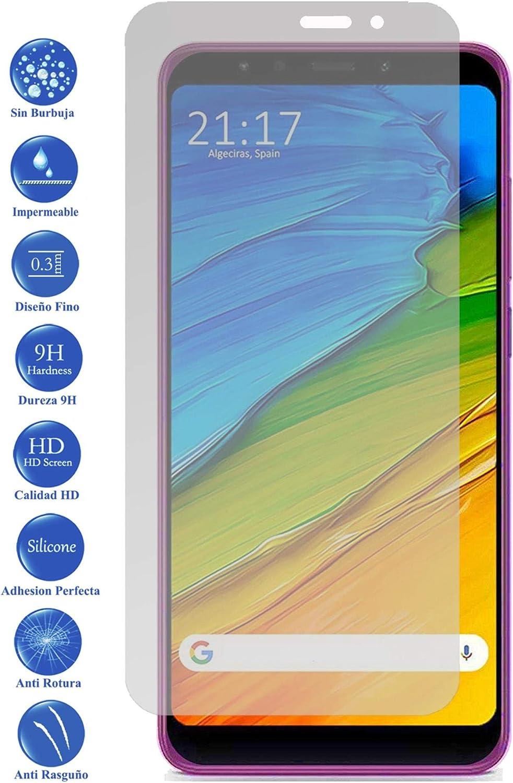 Todotumovil Protector de Pantalla Xiaomi Redmi 5 Plus Redmi Note 5 de Cristal Templado Vidrio 9H para movil