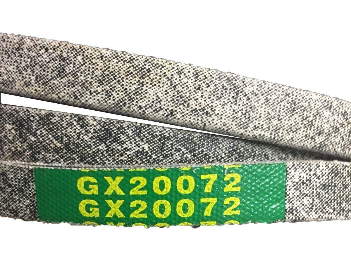 EM Mower Deck Belt GX20072 -42'' - Kevlar - Compatible with John Deere - LA100 LA105 LA110 LA115 by EM
