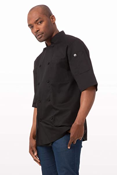 c0d8ef0b8 Amazon.com: Chef Works Men's Montreal Cool Vent Chef Coat: Clothing