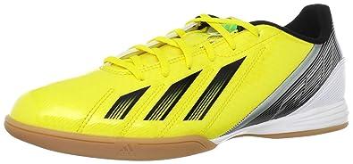 finest selection c61ad 907c9 adidas F10 Indoor Fußballschuh für Herren Gelb (VIVID YELLOW S13  BLACK 1   GREEN