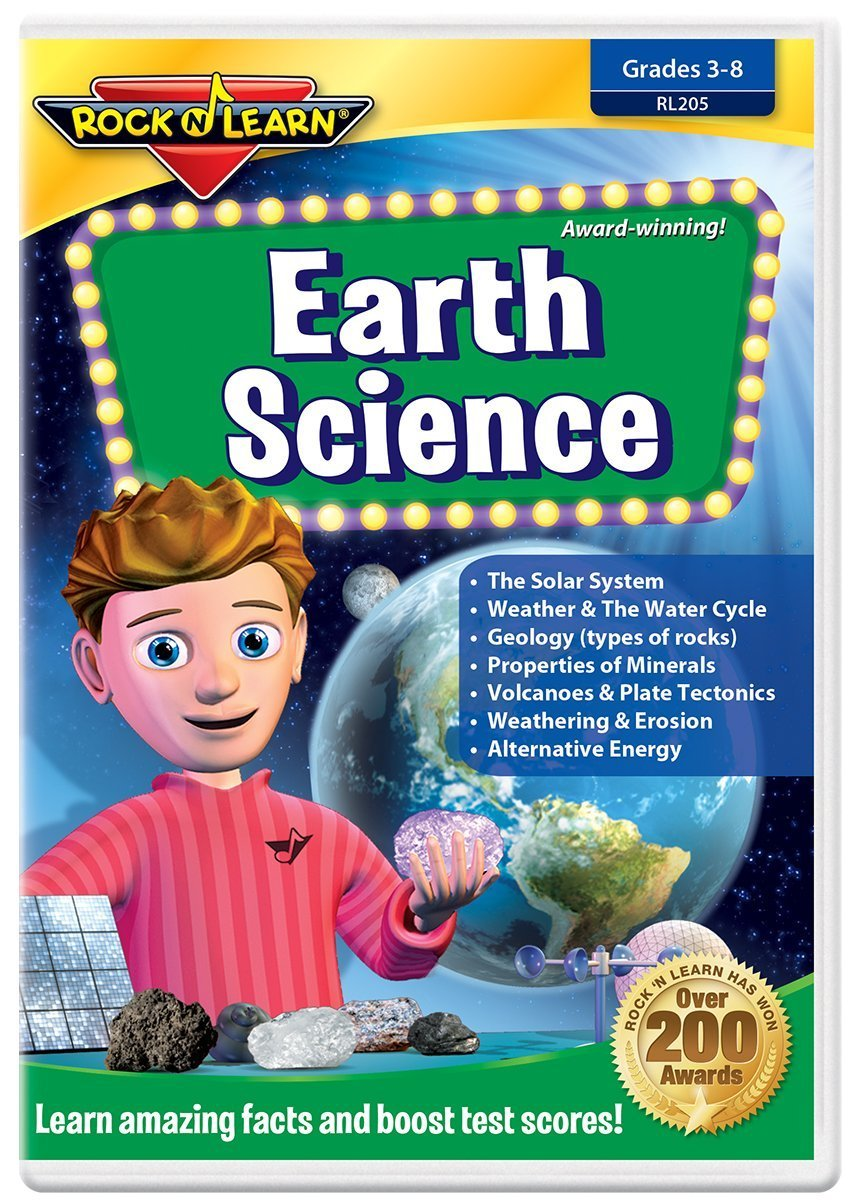 Earth Science DVD by Rock 'N Learn