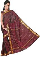 très joli Saree / Sari dans Bollywood arc en ciel - Rouge