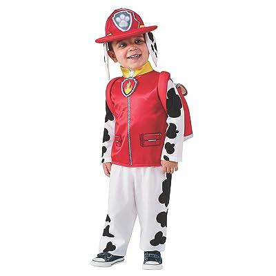 Paw Patrol 610501-S - Disfraz Marshall, 3-4 años: Juguetes y juegos