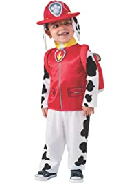 Rubies Costume Toddler PAW Patrol Marshall Child Costume, One Color, Small