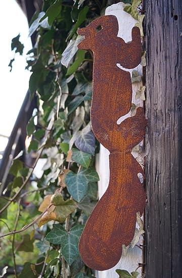 Gartendeko Eichhrnchen Edelrost Baumstamm Rost Deko Design. Cheap Garten  Baumstumpf Garten Dekorieren Verwirrend Bilder Bepflanzter Baumstamm Ideen  ...