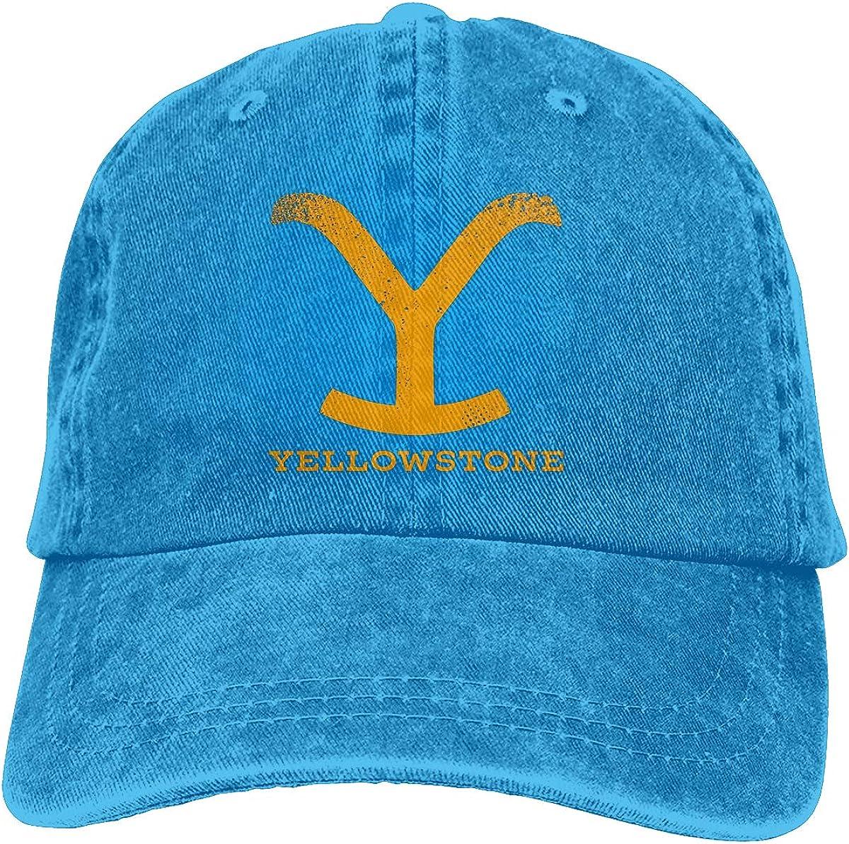jkhhy Yellowstone Unisex Baseball Cap Adjustable Comfortable Cap Vitage Hat,Navy