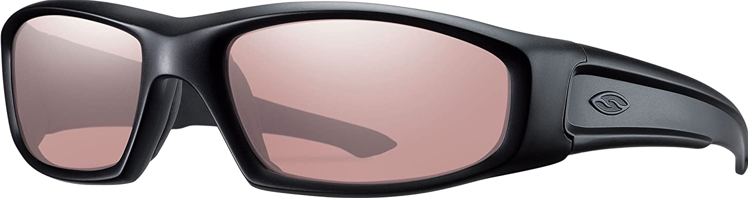 Smith Optics Hudson Tactical Sunglass with Black Frame
