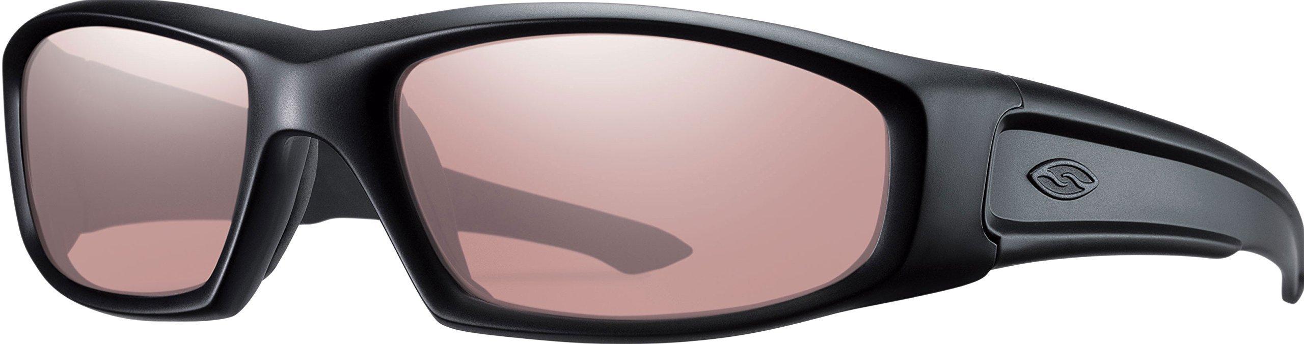 Smith Optics Hudson Tactical Sunglass with Black Frame (Ignitor Lens) by Smith Optics Elite