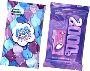 Cards Against Humanity Expansion Packs Ass & 2000s Nostalgia Pack