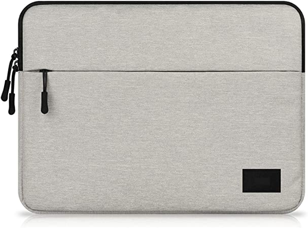 Topdo Estuche portátil para computadora portátil 11 Pulgadas Impermeable Funda para MacBook Air/MacBook Pro/Laptop/portátiles y netbooks 1 Pieza – Gris Claro: Amazon.es: Hogar
