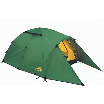 Alexika 9124.3101 Nakra 3 Tente Vert/jaune 415 x 190 x 115 cm