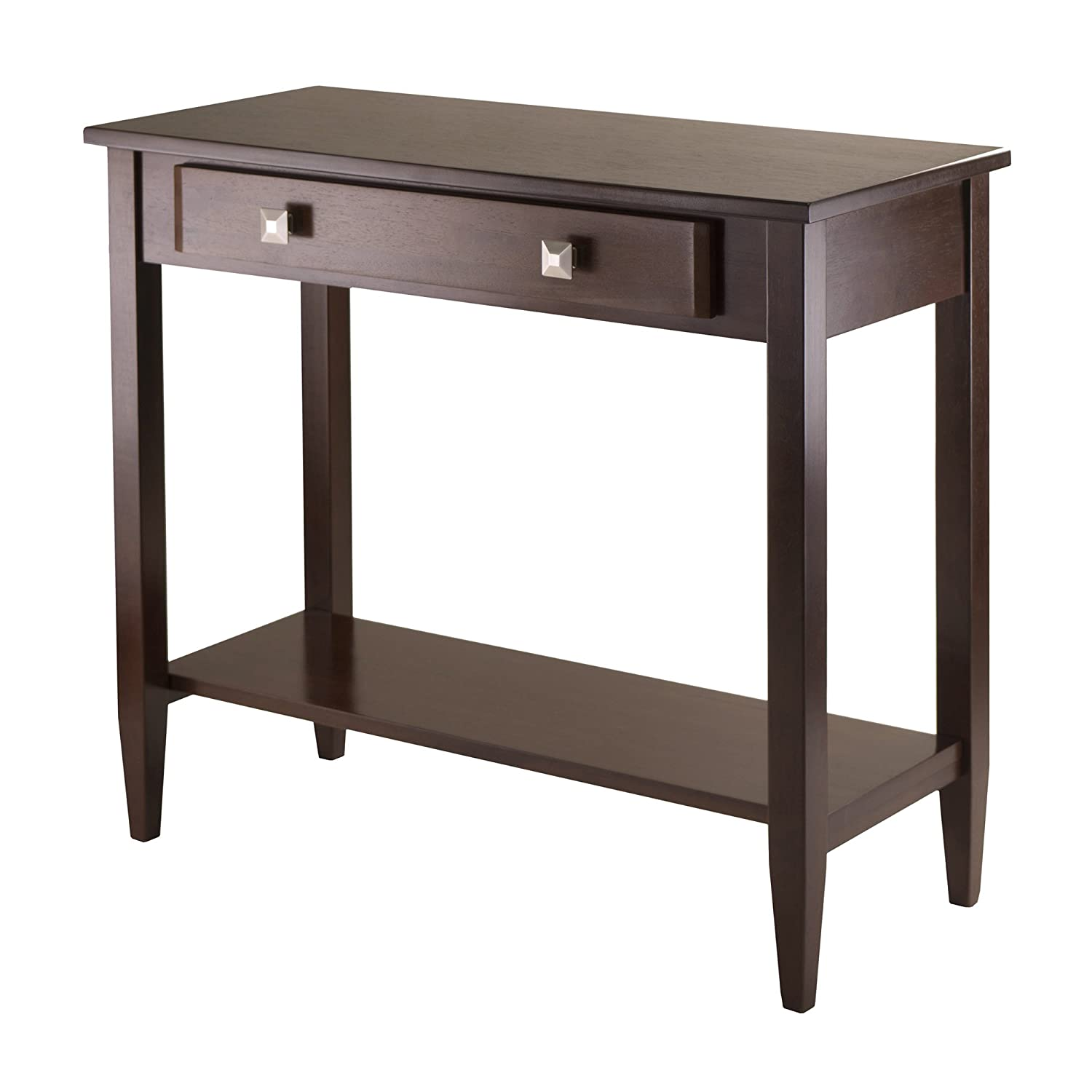 Amazon Winsome Richmond Console Hall Table with Tapered Leg