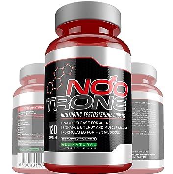 Nootropic Testosterone Booster 120 Max Strength Vegan Capsules