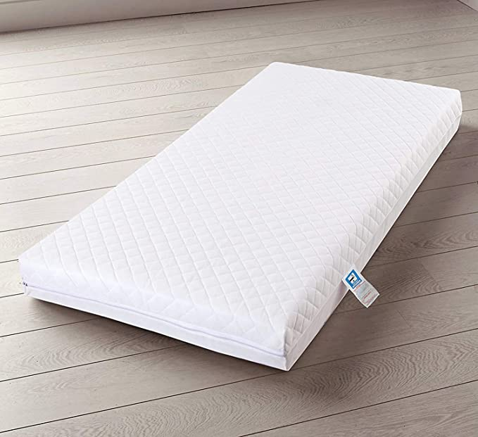 AirComfort™ Eco Breathable Baby Cot Bed Mattress - Waterproof Cover