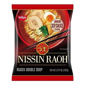 Nissin RAOH Ramen Noodle Soup – Umami Soy Sauce Flavor