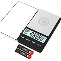 Digital Scale 1000g x 0.1g and a Customized Collapsible Silicone Bowl with Silicone Lid 600ML - MAXUS MATE 1000 Portable…