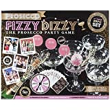Prosecco FIZZY DIZZY KIT Party Game of Abilità, Fortuna e Bere Ping Pong Glass Ball 20PC Set