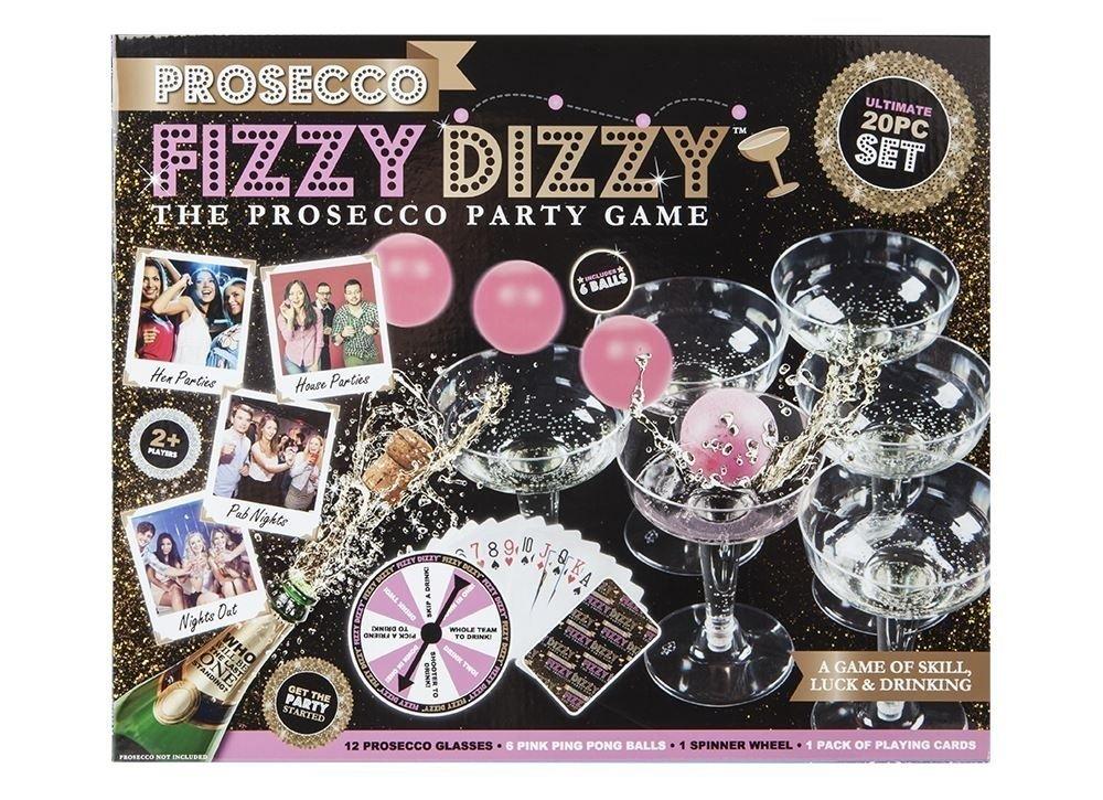 PMS PROSECCO FIZZY DIZZY KIT IN PRINTED BOX