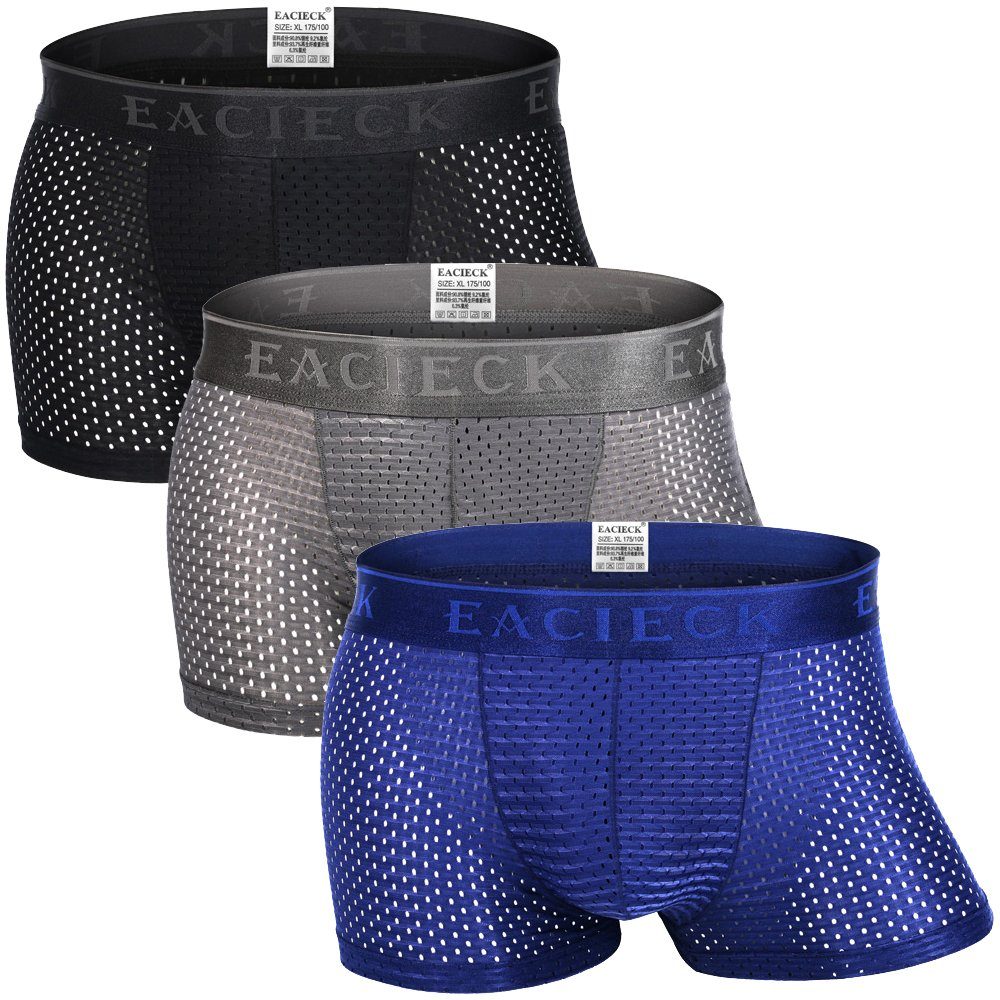 4d670e62ae64 The ice silk material Boxers is comfortable and breathable and ensures  wearing comfort  The high elasticity of the underwear prevents unpleasant  incisions.