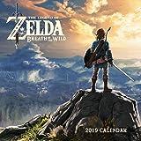 The Legend of Zelda Breath of the Wild 2019 Calendar
