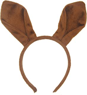 Reindeer Ears Headband Handmade Plush Christmas and Easter Party Headbands and Costume Accessory Brown (Brown  sc 1 st  Amazon.com & Amazon.com: Wildlife Artists White-tailed Deer Headband Reindeer ...