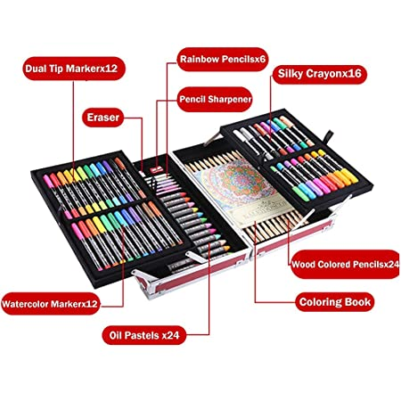 Amazon.com: COLORTREE Portable Art Tools Kit Artist Studio Monster Art Center